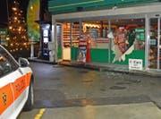 Einbruch in einen Tankstellenshop in Nendeln. (Bild: lpfl)