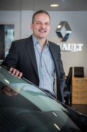 Arthur Hascher in seinem Geschäft, der Garage Berli in Pfyn. (Bild: Andrea Stalder)