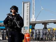 Die USA wollen weiterhin ihr Militär an der Grenze zu Mexiko einsetzen. (Bild: KEYSTONE/AP/GREGORY BULL)