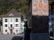 Das Rathaus von Altdorf, in dem im Prozess gegen den Barbetreiber Ignaz Walker der Auftragsmörder eine umstrittene Zeugenaussage machte. Nun wurde er wegen Falschaussage angeklagt. (Bild: KEYSTONE/ALEXANDRA WEY)