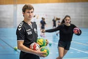 Beim Sport kann Robin Näf abschalten, die Kameradschaft geniessen und mit Freude dabei sein.