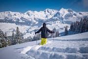 Das SLF warnt vom Skifahren abseits der Piste. (Symbolbild: Benjamin Manser)