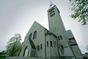 Die evangelische Kirche Romanshorn. (Bild: Reto Martin)