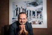 Jonas Lüscher hat mit seinem Roman «Kraft» 2017 den Schweizer Buchpreis gewonnen. Dessen Held erleidet einen realen Albtraum. (Bild: Geri Born)