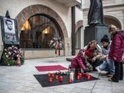 Tschechien erinnert an die Selbstverbrennung des Studenten Jan Palach vor 50 Jahren. (Bild: KEYSTONE/EPA/MARTIN DIVISEK)