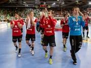 Bei Pfadi Winterthur läuft sportlich alles rund - aber nicht wirtschaftlich (Bild: KEYSTONE/MELANIE DUCHENE)
