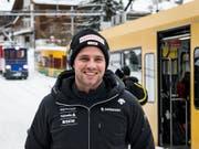 Beat Feuz freut sich auf das Heimrennen am Lauberhorn (Bild: KEYSTONE/JEAN-CHRISTOPHE BOTT)