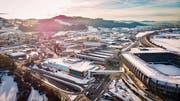 Ein Verein plant die Entwicklung des Gebiets St.Gallen West/Gossau Ost. (Bild: Urs Bucher)