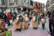 Bleibt Bestandteil der Herisauer Dorffasnacht: Der Gidio-Umzug an Aschermittwoch. (Bild: APZ)