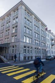 Vom Büro zum Hotel: das Gebäude an der Davidstrasse 21. (Bild: Thomas Hary)