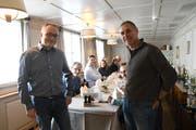 Präsident Reto Bissegger und Projektleiter Hans-Dieter Schmitt kümmern sich um das erste Kiwanis-Projekt. (Bild: Rita Kohn)