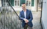 Der SVP-Mann kandidiert für den frei werdenden Stadtratssitz in Weinfelden. (Bild: Andrea Stalder)