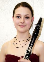 Vanessa Klöpping, Buchs, Klarinettistin. (Bild: PD)