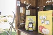 So sieht der Kassenbereich in einem der Läden im Aargau aus. (Bild: Claudio Thoma, Aargauerzeitung)