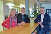 Susanne und Felix Brunschweiler übergeben ihre Immobilienfirma in die Hände ihres Schwiegersohns Daniel Brüllmann. (Bild: Mario Testa)