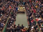 Am 29. Januar - zwei Monate vor dem geplanten EU-Austritt Grossbritanniens - soll im Unterhaus über einen Plan B abgestimmt werden. (Bild: KEYSTONE/AP UK Parliament/MARK DUFFY)