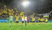 Können die Dortmunder Ende Saison den Meistertitel bejubeln? Bild: Alexandre Simoes/Getty (Dortmund, 10. November 2018)