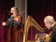 Máire Breatnach und Thomas Loefke spielen in Diessenhofen. (Bild: PD)