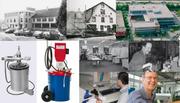 1946 als Schmierpressenfabrik gegründet: die Abnox AG in Cham. (Bild: Screenshot Abnox)