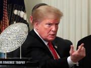 Präsident Donald Trump will am heutigen Donnerstag im Pentagon neue Pläne zur Abwehr von Gefahren etwa aus Nordkorea, dem Iran, aus China und Russland vorstellen. (Bild: KEYSTONE/AP/MANUEL BALCE CENETA)