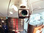 Das Bundesgericht hat die Regeln für polizeiliche Videoüberwachung präzisiert. (Symbolfoto) (Bild: KEYSTONE/MARTIN RUETSCHI)