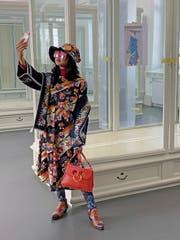 Die indonesische Mode-Bloggerin Diana Rikasari wird bald als Wachsfigur in St.Gallen stehen. (Bild: PD)