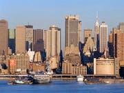 Die Stadt New York hat im vergangenen Jahr erneut millionenfach Besucher angezogen. (Bild: KEYSTONE/AP/ED BAILEY)