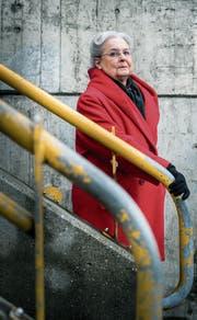 Heidi Meichtry sorgt sich um die medizinische Versorgung in Münchwilen. (Bild: Andrea Stalder)