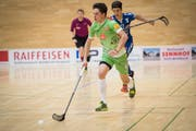 Topskorer Michael Schiess wird auch in der kommenden Saison für den UHC Waldkirch-St.Gallen stürmen. (Bild: Ralph Ribi)