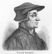 Huldrych (Ulrich) Zwingli.