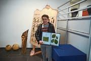 Das Herbarium von Kevin Hehli aus Weissbad wurde am höchsten bewertet. (Bild: Karin Erni)