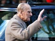 Prinz Philip erholt sich in Sandringham von seinem Autounfall. (Bild: KEYSTONE/AP/KIRSTY WIGGLESWORTH)