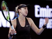 Nichts zu holen gegen Petra Kvitova: Belinda Bencic (Bild: KEYSTONE/AP/AARON FAVILA)