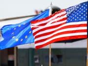 Die EU will einen neuen Handeslpakt mit den USA aushandeln. (Bild: KEYSTONE/AP/JACQUELYN MARTIN)