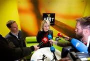 Marie Benedicte Bjørnland, die Chefin des norwegischen Inlandsnachrichtendienstes PST. (Bild: Fredrik Hagen/NTB scanpix via AP)
