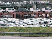 Der Autoimporteur Amag hat letztes Jahr mit Marken wie VW, Audi, Skoda oder Seat 4,6 Milliarden Franken umgesetzt. (Bild: KEYSTONE/CHRISTIAN BEUTLER)