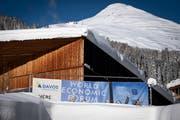 Blick auf das Kongresszentrum des WEF in Davos. (Bild: KEYSTONE/Gian Ehrenzeller, Davos, 15. Januar 2019))