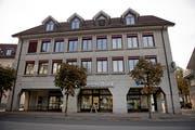 Der Hauptsitz der Urner Kantonalbank in Altdorf. (Bild: Corinne Glanzmann, 18. Oktober 2018)