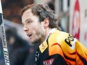 Auch Topskorer Julien Sprunger, Gottérons besten Skorer aller Zeiten, traf gegen Zug nicht. In der 58. Minute traf Sprunger bloss den Pfosten (Bild: KEYSTONE/PPR/CYRIL ZINGARO)
