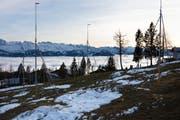 Die Initiative fordert, dass die Baufläche auf dem heutigen Stand eingefroren wird. (Bild: Urs Bucher)