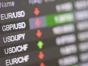Europas Börsen sind schwach in das neue Jahr gestartet. Der Handelsstreit zwischen den USA und China belastet weiter den Aktienmarkt. (Bild: KEYSTONE/ENNIO LEANZA)