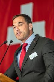 SVP-Generalsekretär Dominique Steiner quittierte den Dienst nach einer Woche wieder. (Bild: Keystone)