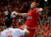 Mikkel Hansen ist das Gehirn des dänischen Spiels.(Bild: EPA/SRDJAN SUKI)