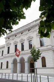 Das Bundesstrafgerichts in Bellinzona. (Bild: Gabriele Putzu)