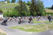 Bis jetzt mussten die Appenzeller nach Berneck oder Flawil fahren, um einen Pumptrack benutzen zu können. Bild: Tagblatt