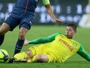 Emiliano Sala spielte seit 2015 für den FC Nantes und war am Montag auf dem Weg zu seinem neuen Klub nach Cardiff (Bild: KEYSTONE/AP/DAVID VINCENT)