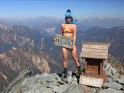 Bestieg in vier Jahren mehr als 100 Gipfel und machte Selfies im Bikini: die Taiwanesin Gigi Wu. (Bild: Gigi Wu/Facebook)