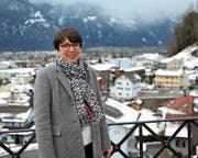 Luzia Gisler setzt sich als neue Gemeindepräsidentin für ihre Wohngemeinde Bürglen ein. Dabei legt sie grossen Wert auf ihr Team im Gemeinderat. (Bild: Urs Hanhart, Bürglen, 14. Januar 2019)