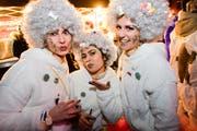 Drei zuckersüsse Damen amüsieren sich. (Bild: Donato Caspari)