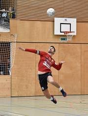 Malik Müller vom SVD Diepoldsau vertrat die Brüder Lässer erfolgreich im Angriff. (Bild: pd)